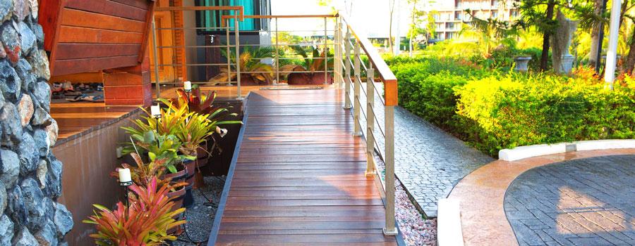 Un nuovo intervento trainato, l'abbattimento delle barriere architettoniche