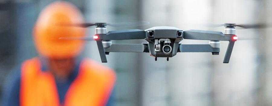 Droni e laser scanner: il futuro delle rilevazioni
